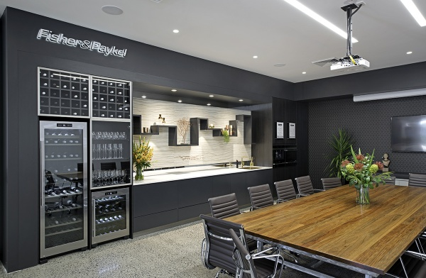Laminated Bench tops, Office fit-out Hume