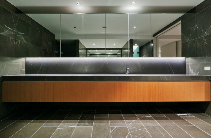 Office fit-out Belconnen, Sink drawers